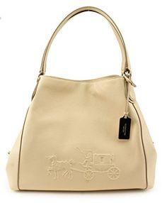 COACH-Womens-Refined-Pebble-Leather-Edie-31-Shoulder-Bag