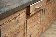 Küchenfronten Altholz Nachbildung