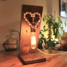 This Angel lamp was commissioned for a wedding gift. The Angel can be tailored to your taste, do get in touch with your design ideas. The basic Angel lamp is available in our Etsy store.