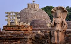 Sanchi is famous for its Buddhist monuments. The great Stupas in Sanchi are the oldest stone structure in India and were originally commissioned by emperor Ashoka. Welcome to Sanchi, the Stupa Village and explore the history and culture here.   #MadhyaPradesh #India #Travel #Explore