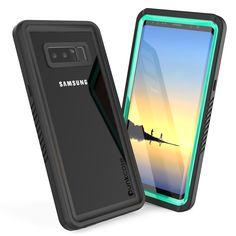 sale retailer 5c291 3544a Galaxy Note 8 Waterproof Case Punkсase StudStar Clear Thin 6.6ft ...