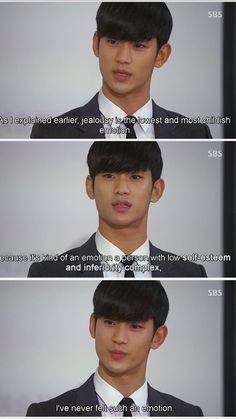 Action speaks louder than words, Do Min Joon. Haha.