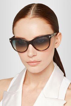 Tom Ford | Lily Sonnenbrille aus Azetat mit Cat-Eye-Rahmen | NET-A-PORTER.COM