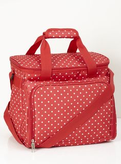Polka Dot 4 Person Picnic Cool Bag - BHS