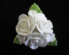 Vintage China Flower Brooch by Coalport China by TheWhistlingMan, SOLD