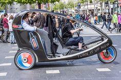 Eco Taxi Service - O'Connell Street Dublin