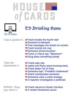 drinking games with no cards