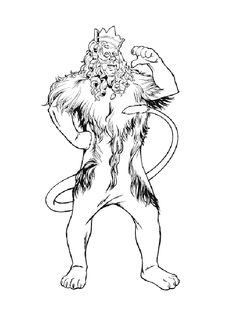 Wizard of Oz Coloring Pages 22