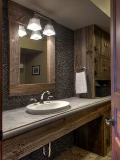 Rustic Bathroom Design, Pictures, Remodel, Decor and Ideas - page 13