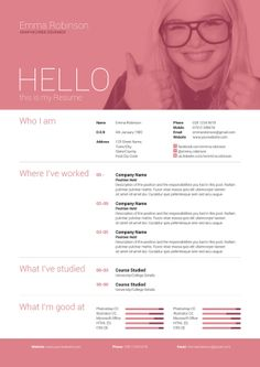 Simple yet high impact single page resume/cv and cover letter which comes in 5 different colours to help get you started! Cv Design, Resume Design, Graphic Design, Resume References, It Cv, Cover Letter Design, My Resume, Street Names, Self Promotion