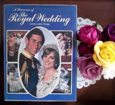 Princess Diana Prince Charles The Royal Wedding Hardcover Book Full of Photos | eBay