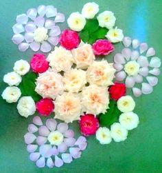 Ideas How To Be Creative With Rangoli Decoration During Festive Seasons  #RangoliDesigns #RangoliIdeas #FestiveRangoli