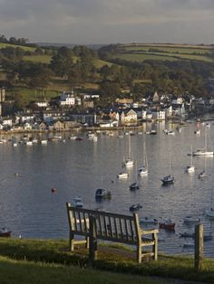 Fowey Town and Harbour Viewed From Polruan, Cornwall, England    http://TreyPeezy.com  http://twitter.com/treypeezy