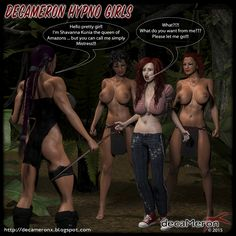 Decameron X - Hypno Girls - Jane and the Amazons Futa