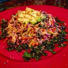 I kind of want to eat Kelli's beautiful super slaw as my whole meal!  via @kelli108