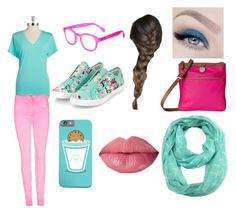"""""""Bestie colors"""" by kasy-neckles on Polyvore"""