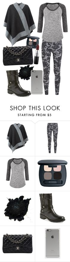 """""""Outfit #500"""" by sofi6277 on Polyvore featuring moda, Burberry, Converse, maurices, Bare Escentuals, Aquatalia by Marvin K., Chanel, Incase y MAC Cosmetics"""