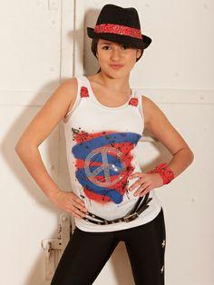 Party in the USA - Style 0312 | Revolution Dancewear Jazz/Tap Dance Recital Costume