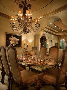 Perla Lichi Design's  dining room light