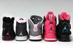 Jordan Brand Girls - Holiday 2012 Sneakers