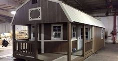 The Transformation of this Playhouse into Cozy Tiny House is Brilliant