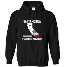 I Love Santa Monica California Its Where My Story Begins! Special Tees 2015 Shirts & Tees