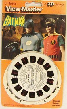 GAF: 1976 Batman View-Master Reels #Vintage #Toys