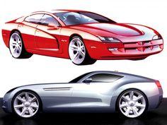 Chrysler design sketches from the Design Sketch Board http://www.carbodydesign.com/design-sketch-board/