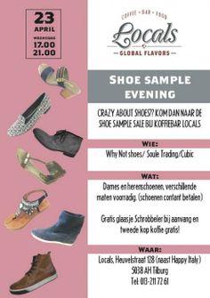 Shoe sample evening -- Tilburg -- 23/04