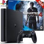 PlayStation 4 Slim 500GB Uncharted 4 Bundle - PS4 Console (Sony Latest Model)