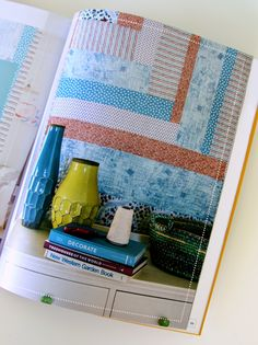 Diary of a Quilter - a quilt blog: Modern Quilt-as-you-Go pattern book