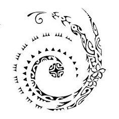 Tattoo of Koru sunmoon, All is possible tattoo - custom tattoo designs on TattooTribes.com