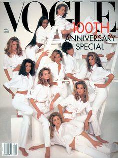 Model Tatjana Patitz's best moments in Vogue