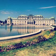 Vienna, Austria Belvedere Palace