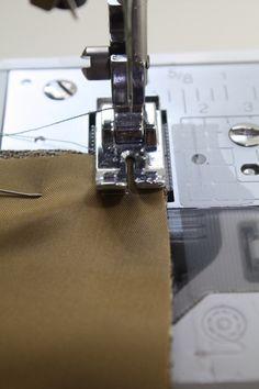 Tutorial: All-in-One Hong Kong Finish + Underlining / Britex Fabrics   Britex Fabrics