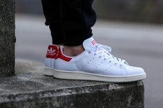 "adidas Stan Smith ""White & Red"""