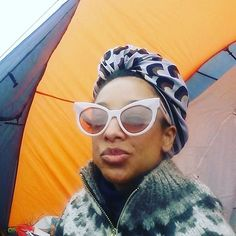 4 HOURS TO GO until my #Glastonbury performance . Come down! ! 8.15 AVALON #headwraps @glastofest . Loving actually camping here Corinne Bailey Rae, Love Actually, Kurt Cobain, Head Wraps, 4 Hours, Sunglasses, Instagram Posts, Camping, Style