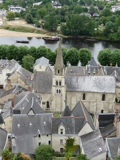 Chinon, Loire Valley, France. Home of Cabernet Franc.