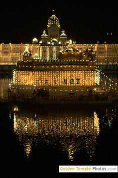 golden temple diwali night