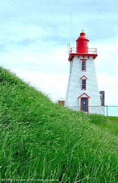 Built in 1880, Souris East Lighthouse is a wood-constructed tower on  Knight Point overlooking the town of Souris. Visitors can climb to the lantern r