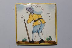 Tile  Place of origin:  Catalonia (made)  Date:  late 18th century-early 19th century (made)