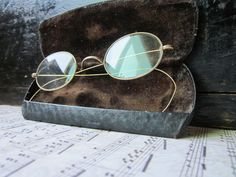 Antique Spectacles by housewarming101 on Etsy, $65.00