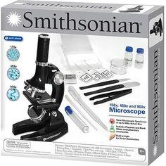 Smithsonian 150x/450x/900x Microscope Kit � The Toy Shop