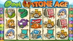 #CoolStoneAge video slot game is another stunning game developed by the #Topgame Technologies and is set around the famous Stone Age times featuring 4-stone drives, #cavemen, mammoths as well as other characters.  This game was developed in 2011 and has #cheerful and bright colours as well as a crisp of stereo sounds that pep up even the dreariest online casino player.