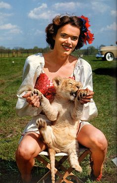 circus performer 40's-50's