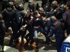 Spanish Anti-Austerity Protests