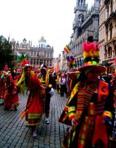 Another Parade in Town Hall — in Belgium.