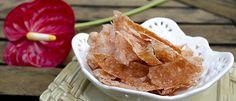 Chips de peito de peru