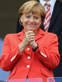 Angela Merkel: Ihre schönsten Jubel-Bilder
