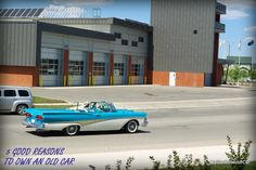 MSCC gives you 5 good reasons to own an old car or truck--full story: http://mystarcollectorcar.com/five-good-reasons-to-own-an-…/